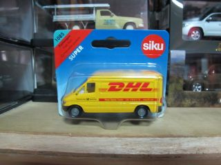 Mercedes Benz Sprinter DHL Delivery Deutsche Post Van MK1 Siku 1085