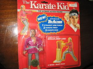 Vintage The Karate Kid 1986 Ultimate Action Figure Mr Miyagi Daniels