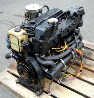 Mercruiser 470 4 cyl 170HP Inboard Marine Boat Engine Motor   New