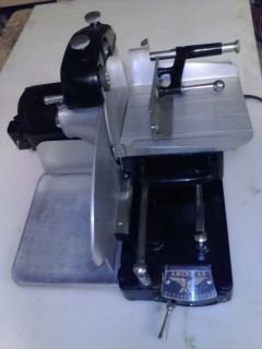 American Meat Slicing Machine Vintage Commercial Chicago USA Heavy