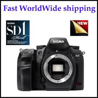 Sigma SD1 Merrill Digital SLR Black Body Only Fast Worldwide Shipping