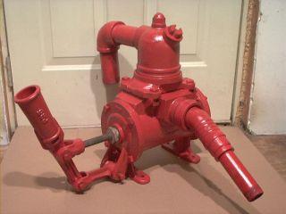 Vintage Steam Engine Water Pump Works