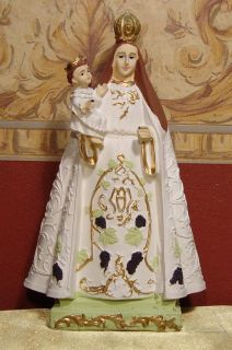 Virgen de La Carrodilla Viñedos Mendoza Catolica Imagen