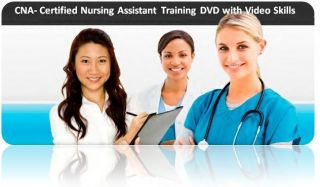 Nursing Assistant CNA Medical Training DVD Sample Exam Videos