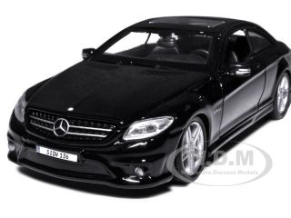 Mercedes Benz CL63 CL 63 AMG Black 1 24 Diecast Model Carby Maisto