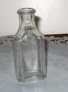 Vintage Owens 3 1 2 Liquid oz Medicine Bottle 1903 1929