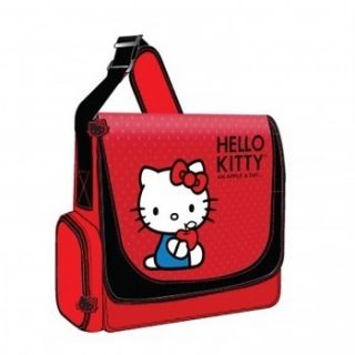 Hello Kitty Padded Laptop Case Messenger Style Bag with Shoulder Strap