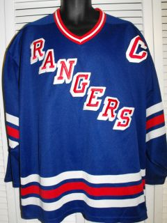 Mens x L CCM New York Rangers 11 Messier Hockey Jersey