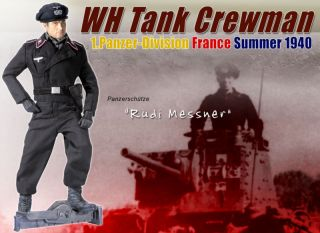 Dragon WWII German Panzer Division Crewman Rudi Messner