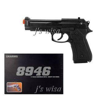 8946 Spring Metal Airsoft Pistol Gun Beretta Replica