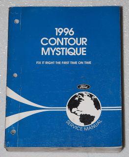 1996 Ford Contour Mercury Mystique Factory Service Manual Dealer Shop