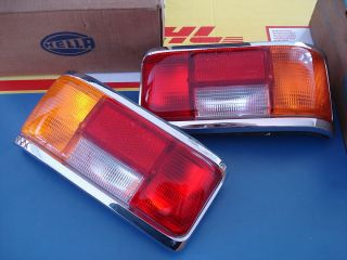 Mercedes Benz W114 W115 tail light assy x 2 OEM NOS Hella 220 200 220D