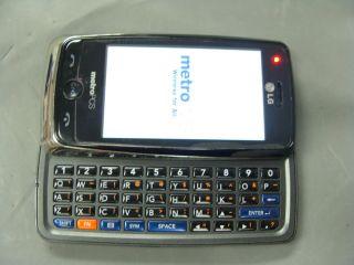 Metro Pcs LG Banter Rumor Touch Screen MN510 LN510 Cell Phone QWERTY