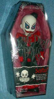 Living Dead Dolls Series 3 Schitzo Gothic Clown Doll