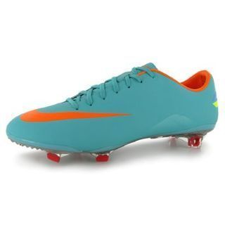 Mens Nike Mercurial Vapor VIII FG Football Soccer Boots Retro Blue