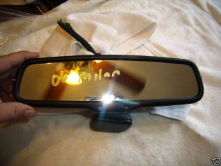 06 09 Ford Fusion 500 Mercury Milan Rear View Mirror