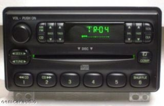 Ford Explorer Mercury Mountaineer CD Player Radio 2003 2004 02 03 05