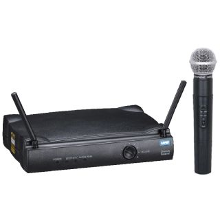 UHF wireless microphone system Shure UT4 TG diversity wireless mic