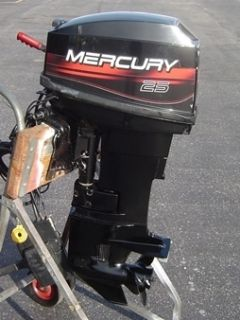Mercury Outboard Boat Motor 25HP Electric Start Short Shaft Runs Great