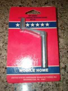 Mobile Home 2 3 16 Metal Awning Window Crank