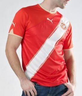 nwt AUTHENTIC Puma TUNISIA NATIONAL TEAM Football Soccer Shirt Jersey