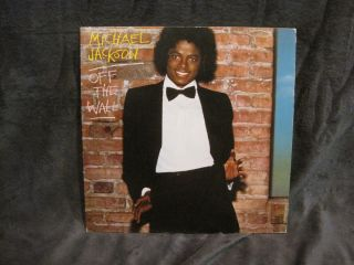 Michael Jackson Off The Wall LP FE 35745 1979 on Epic
