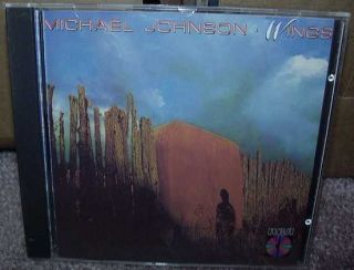Michael Johnson Wings CD RCA Records USA I SHIP Worldwide