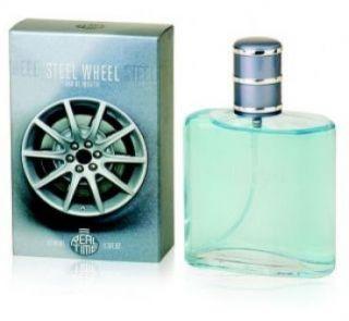 Real Time Steel Wheel 100ml EDT Spray for Men New Mens Perfume