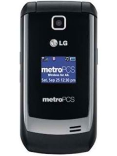 New LG Select MN180 MetroPCS Titanium Silver Flip Phone