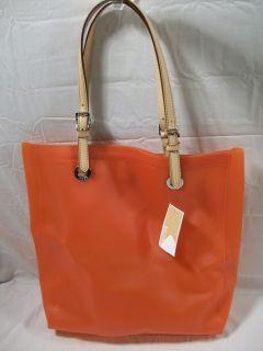 Michael Kors N s Tote Jet Set Jelly Neon Orange