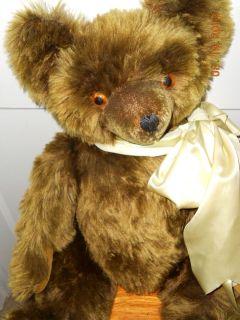 Large Knickerbocker Teddy Bear Antique Vintage 1950