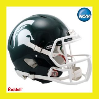 MICHIGAN STATE SPARTANS ON FIELD AUTHENTIC REVOLUTION SPEED FOOTBALL