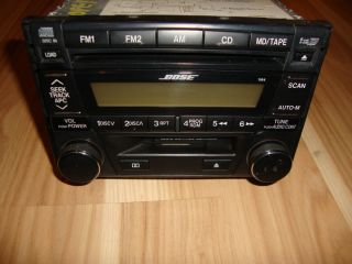 Millenia Miata 626 Portage Bose 6 Disc CD Player Radio Cassette