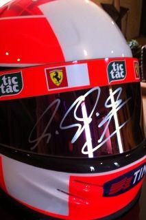 Michael Schumacher Autographed Limited Edition Ferrari 2001 F1 Bell
