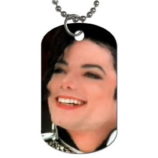 King Michael Jackson Collectible Dog Tag Necklace 1