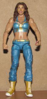 Mickie James WWE RARE Mattel Diva Wrestling Figure Basic Series 3 WWF