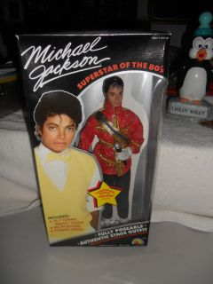 Michael Jackson Doll American Music Awards Outfit