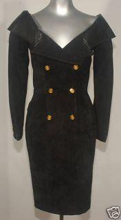 North Beach Leather Michael Hoban Sexy Black Dress XS