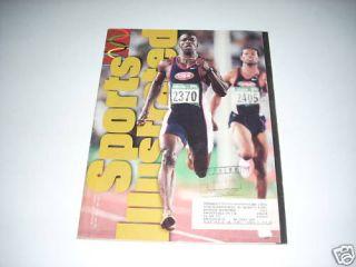 1996 Sports Illustrated Olympics Michael Johnson Sprint