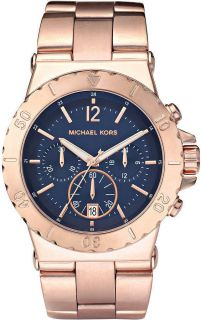New Michael Kors Rose Gold Chronograph Oversize Women Latest Watch