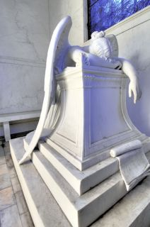 Weeping Angel Metairie Cemetery New Orleans