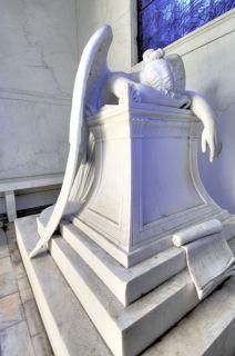 Weeping Angel Metairie Cemetery New Orleans