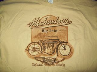 Michaelson Motorcycle T Shirt Antique