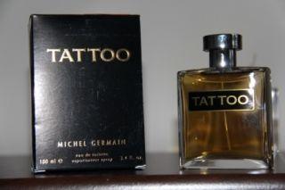 TATTOO by Michel Germain Cologne for Men 3.4 fl.oz. /100 mL EDT Spray