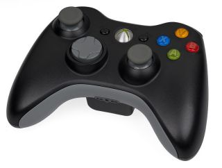 Official Microsoft Xbox 360 Elite Black Wireless Controller