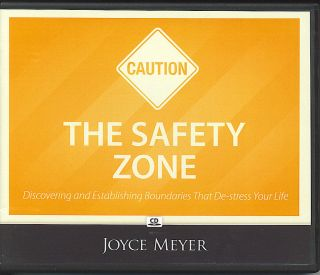 The Safety Zone Joyce Meyer 4 CDs