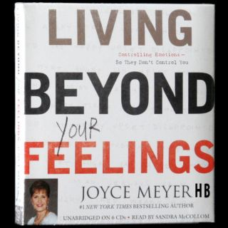 Beyond Your Feelings JOYCE MEYER 6 CDs Emotional Control Happiness