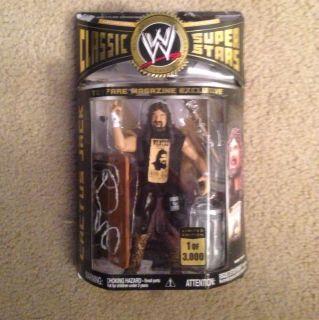 Superstars 1 3000 Catctus Jack WWF Mankind Jakks Mick Foley rare