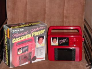 Michael Jackson Cassette Player 1984 Collectors Item