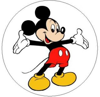 Mickey Mouse 1 Sticker Seal Labels